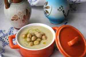 Soupe de pois chiche au cookeo