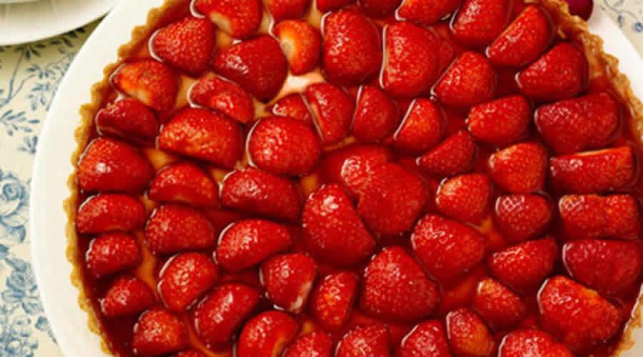 Tarte aux fraises gariguette avec thermomix