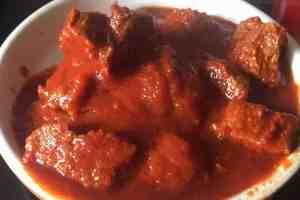 Bœuf goulash au Cookeo
