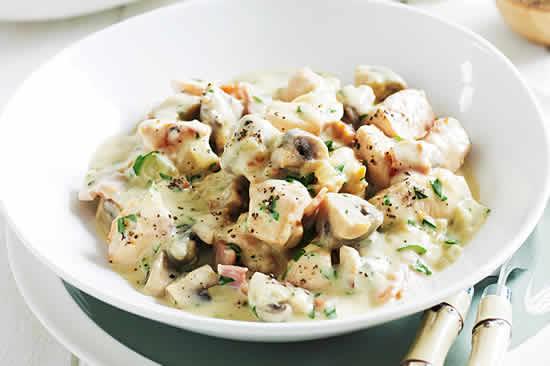 blanc de poulet aux champignons avec cookeo