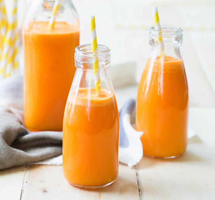 smoothie orange carotte au thermomix