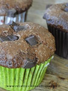 muffins chocolat thermomix