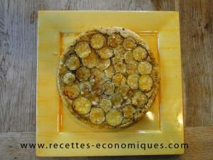 tatin courgettes miel (2)