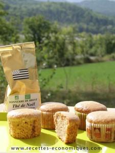 muffins thé
