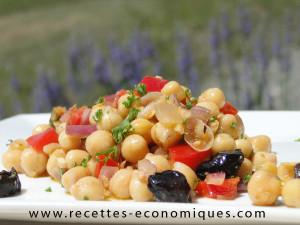 recette salade pois chiche (2)
