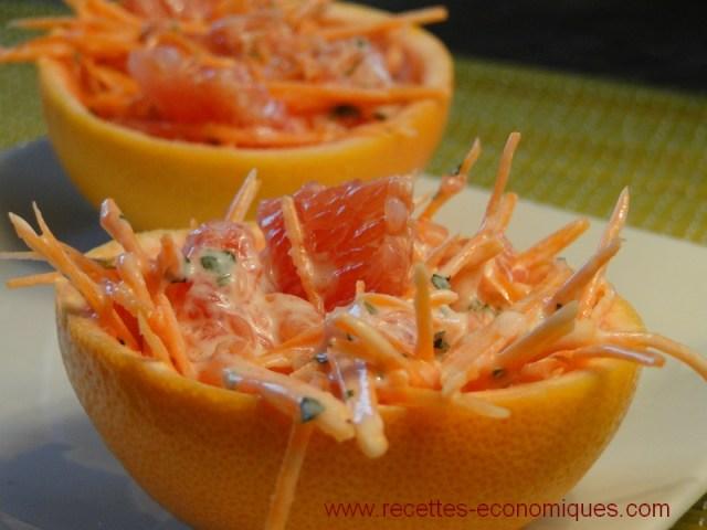 pamplemousse carottes sauce yaourt (1)