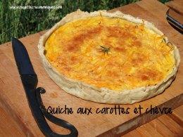 recette-rapide-tarte-carottes-chevre