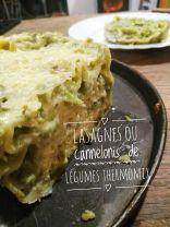 recette lasagnes aux légumes thermomix
