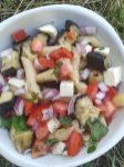salade aubergine tomate poivron (2)