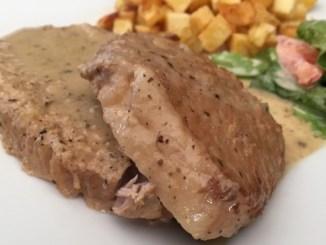 Roti de porc fondant