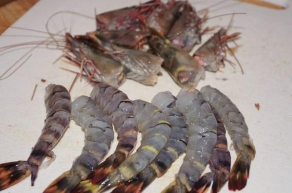 crevettes, principal ingrédient de la Tom Yam Goong - la vraie recette thaïlandaise © par Fanny GRW - Recettes d'ici et d'ailleurs