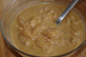 Marinade pour Brochettes de poulet saté - cuisine thaï © par Fanny GRW - Recettes d'ici et d'ailleurs