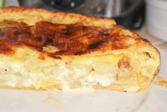 Tourte de pommes de terre à la crème fraîche  © Balico & co