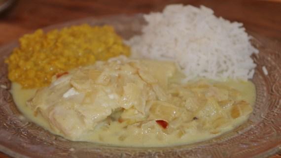 Curry de poisson au lot de coco - Cuisine indienne © par Fanny GRW - Recettes d'ici et d'ailleurs