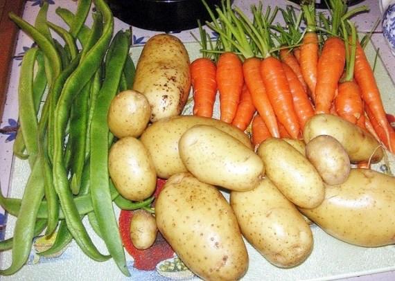 légumes de Madagascar