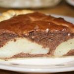 tarte amandine poire choco Flan pâtissier traditionnel - Cuisine française © par Fanny GRW - Recettes d'ici et d'ailleurs