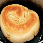 Cuisson du Pain tibétain fourré aux légumes Special bread - Cuisine tibétaine © Recettes d'ici et d'ailleurs