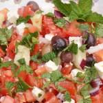 Salade grecque © Recettes d'ici et d'ailleurs