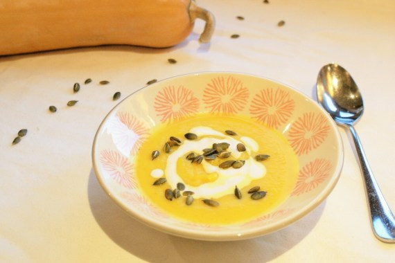 Soupe de courge au curcuma et gingembre  © Balico & co