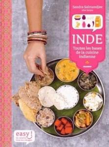 Livre de cuisine indienne INDE de Sandra Salmandjee - éditions MANGO