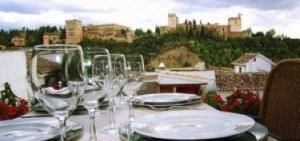 Restaurante Carmen Aben Humeya en Granada