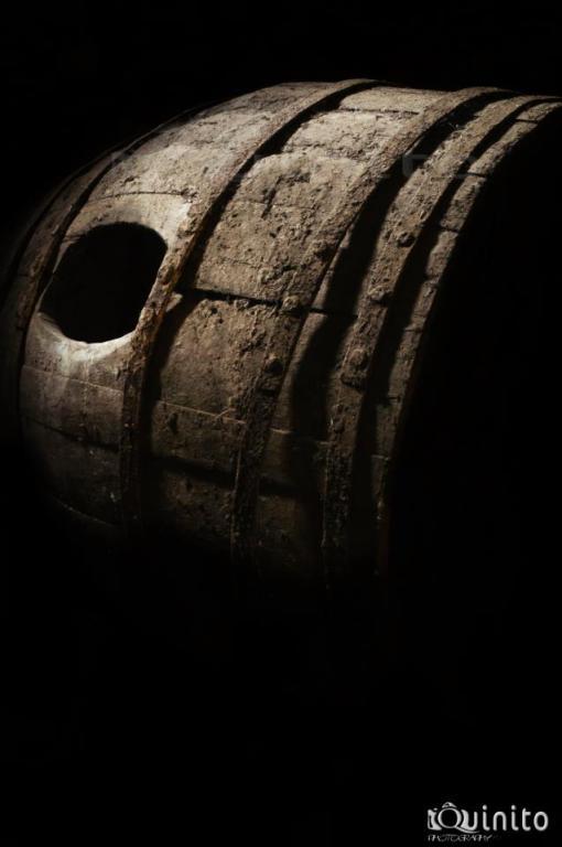 Barrica de vino antigua