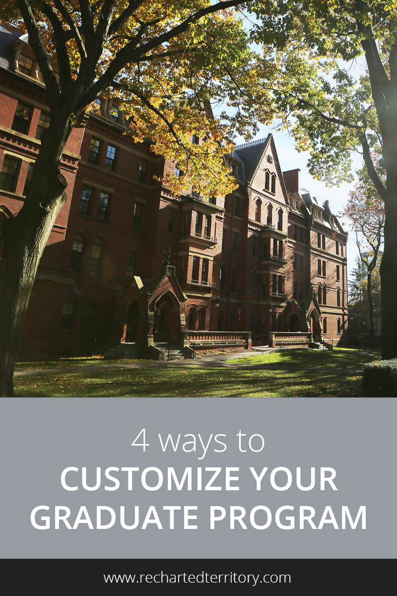4 ways to customize your graduate program