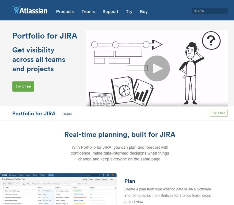 Portfolio for JIRA