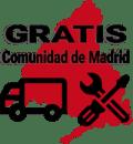 Transporte y montaje gratis en la Comunidad de Madrid