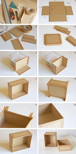 Reciclagem No Meio Ambiente Como Fazer Uma Caixinha De