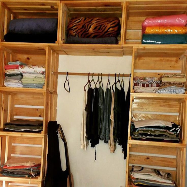 movel reciclado closet