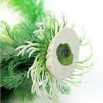 RainBabe Plante Aquarium Artificiel Cachette en Plastique D¨¦coration Aquarium 30cm
