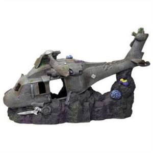 Resin Ornament – Super Sized Sunken Helicopter