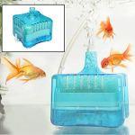 Roblue Filtre à Charbon Activé Aquarium Fish Tank Mini Super Pneumatique Biochemical 80 * 80 * 55mm