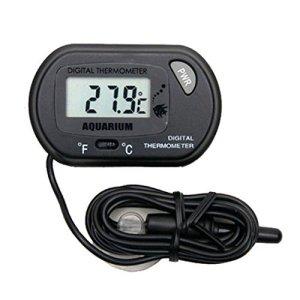 Winkey Aquarium Thermomètre, WMA Digital LCD Poissons d'aquarium marin vivarium Thermomètre -50°C à 70°C