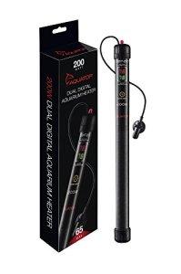 AquaTop D2ht-200Chauffage pour aquarium Digital Dual Display, 200Watts