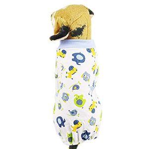Hawkimin Costume de Pyjama Confortable pour Chien