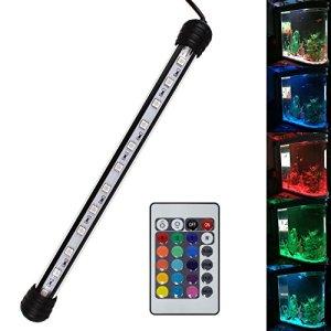 SPEED RGB Aquarium Eclairage LED Lampe Tube SMD 5050 étanche 58cm 30 LEDs