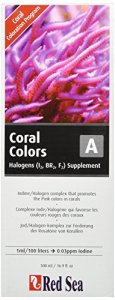 Mer Rouge Poisson Pharm are22043 Reef Couleurs Iode/halogènes supplement-a pour Aquarium, 500 ml