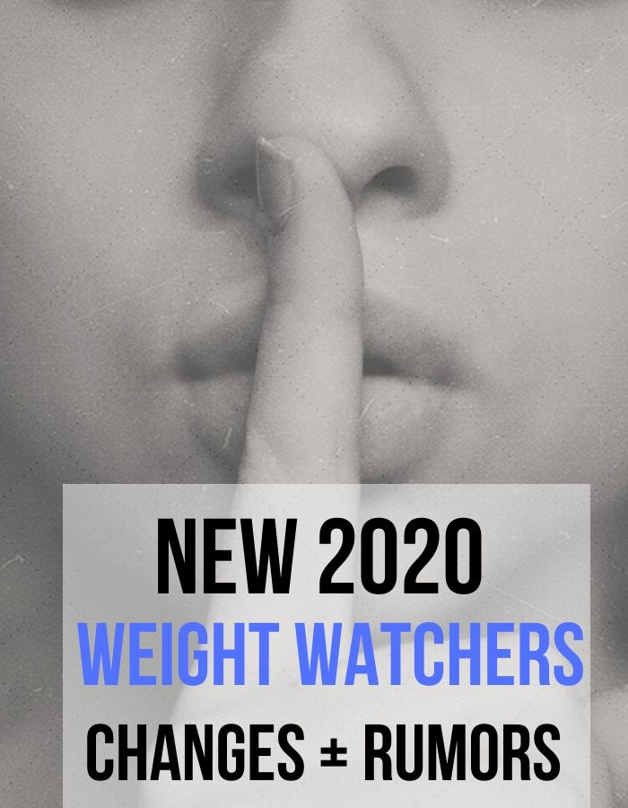 New Weight Watchers Changes 2020 Updated Recipe Diaries