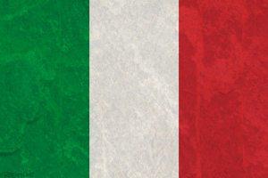 Italian Flag with Texture