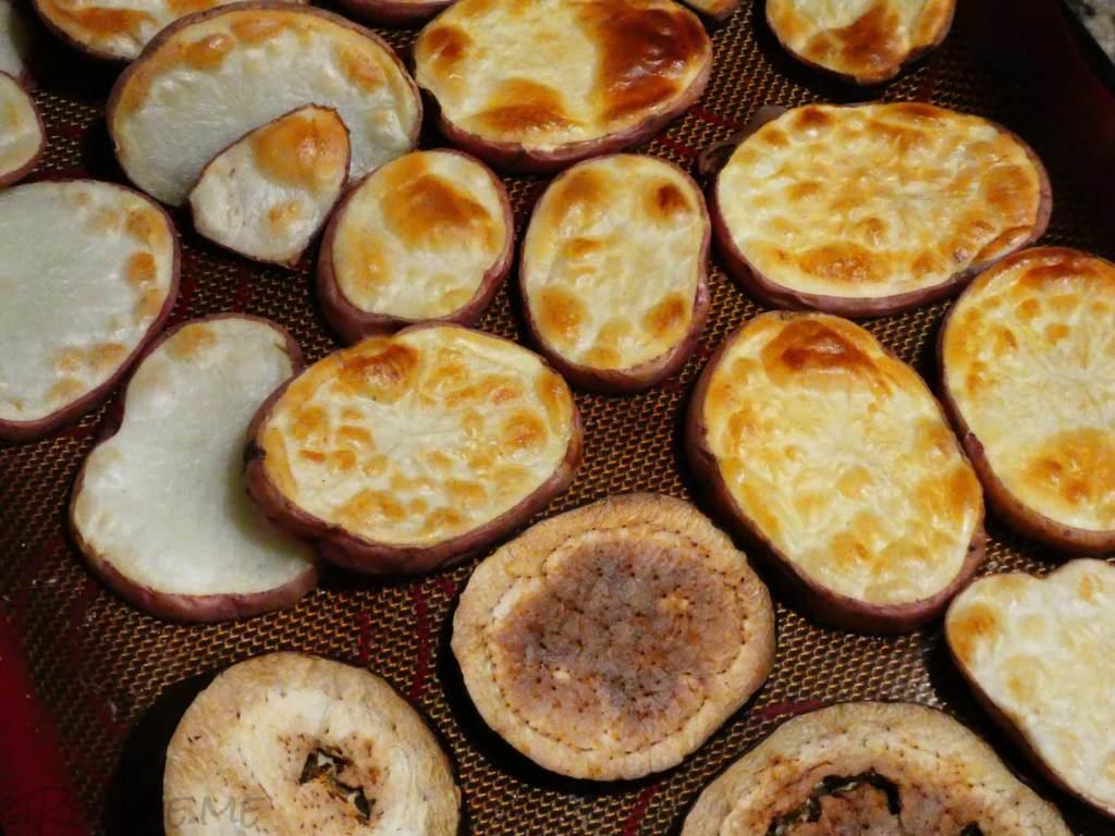 How to Make Greek Moussaka Step 5 Fry or Bake Vegetables