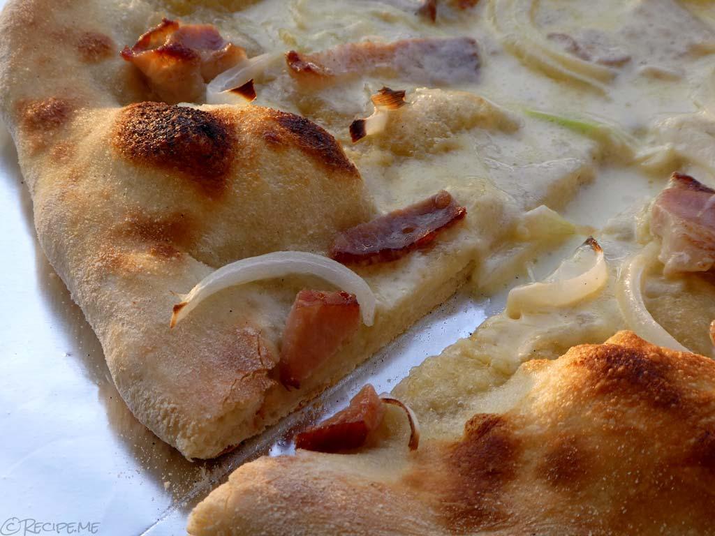 Flammekueche (Tarte Flambée, Flammkuchen) Recipe