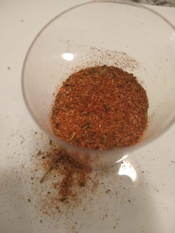 Peri-Peri Seasoning/Spice Mix Homemade Easy Simple Budget Delicious