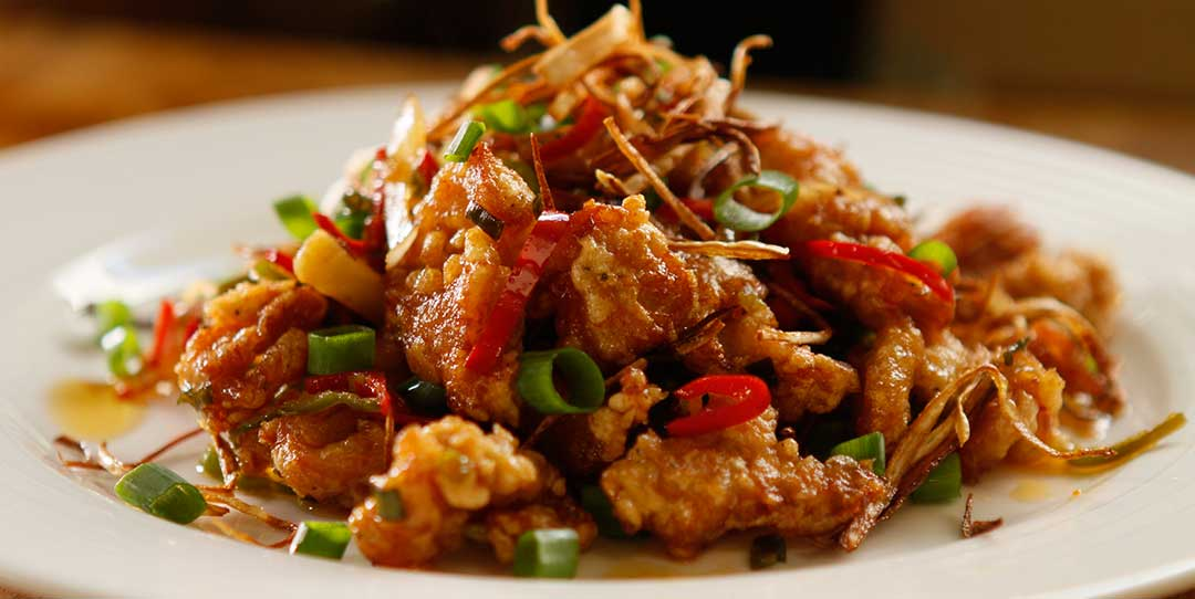 Spicy Garlic Fried Chicken - Easy Meals with Video Recipes ...