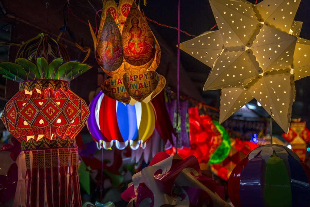 The many kinds of lamp that add light and color to Diwali Photo Credit: Pixabay