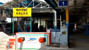 Kalka Railway station - the start of my journey to relive old world charm of Kalka Shimla toy train