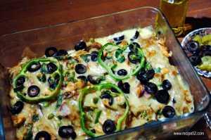 Tikka paratha roll bake recipe