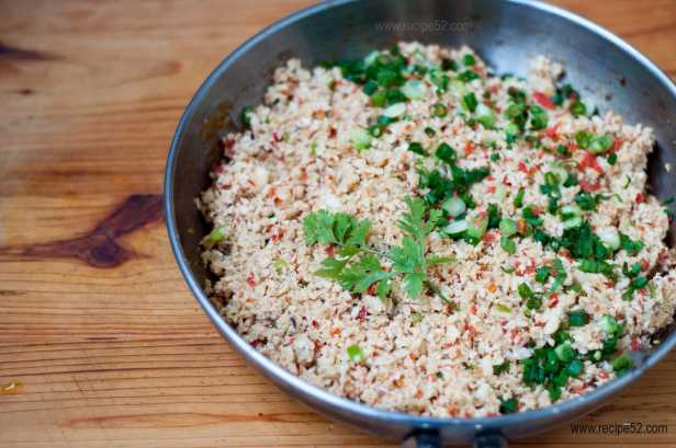Cauliflower Egg Fried Rice Recipe