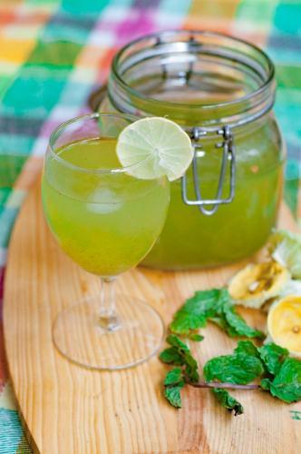 Mint lemonade recipe summer drink